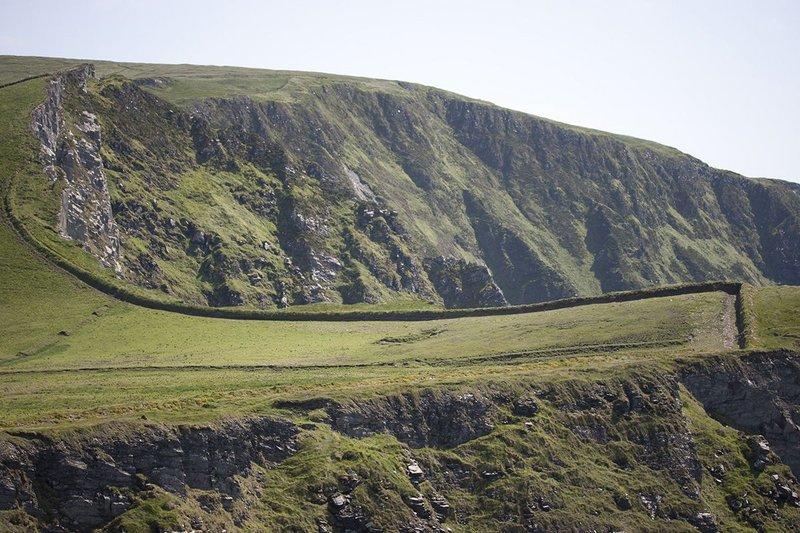 The west coast of Ireland.