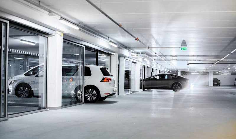 Parking systems extend all the way from simple two-car vertical stackers to fully automatic computerised solutions capable of storing thousands of cars.