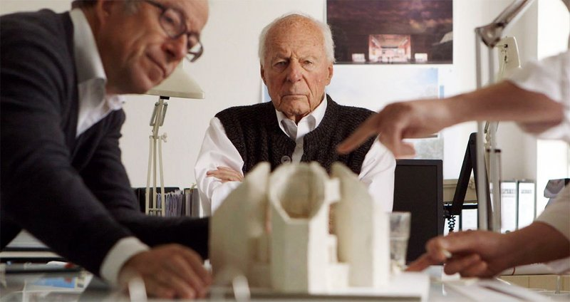 Concrete Love, a documentary on Pritzker Prize-wining architect Gottfried Boehm and his family, filmed over two years by director Maurizius Staerkle-Drux.
