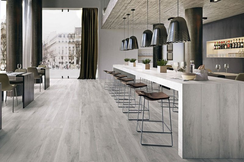 Surface 360 Timeless Interior 10mm porcelain tiles come in a beautifully crafted plank format and accurately re-create the look of natural weathered timber.