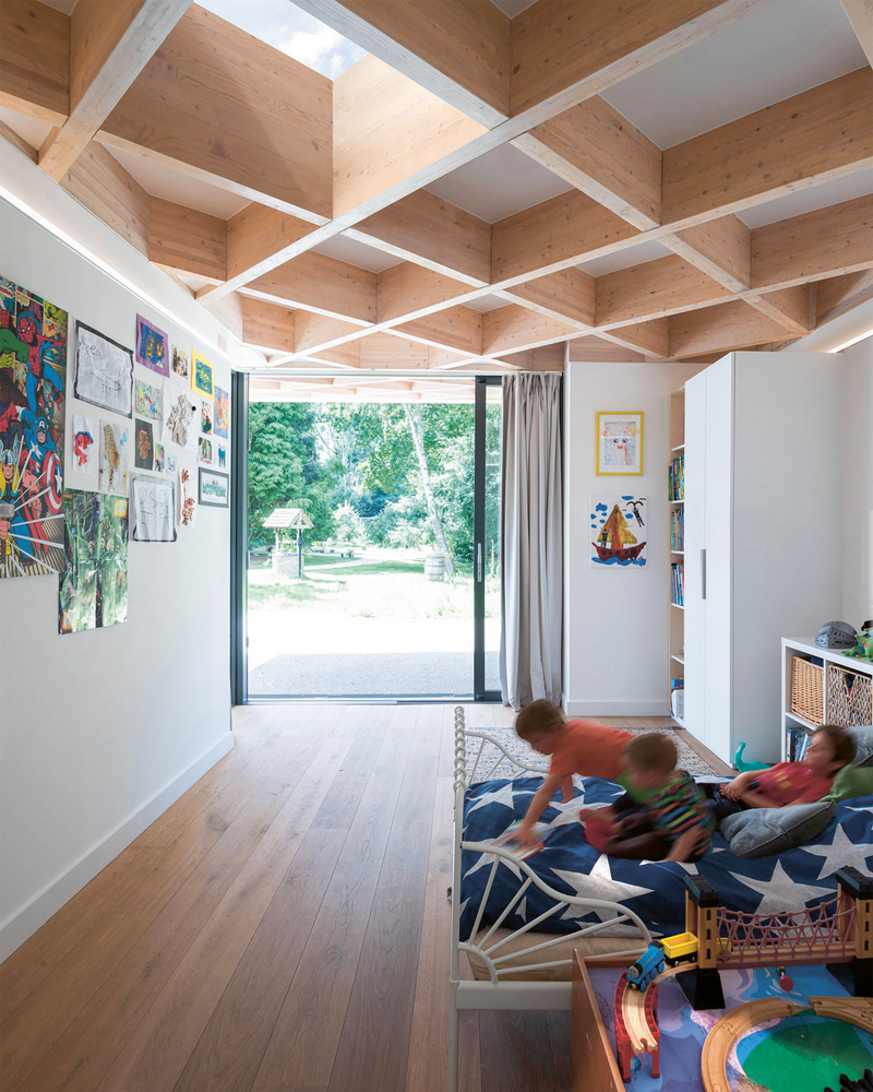 Shifting the awards on a year will allow clients to have spent all four seasons in their building and know when to open it up, as with the House for Theo and Oskar designed by Tigg + Coll Architects.