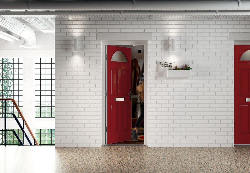 The Door-Stop Fire and Security Dual-Certificated Doorset: Designed to be the product of choice for those who want to update existing buildings or specify new developments.
