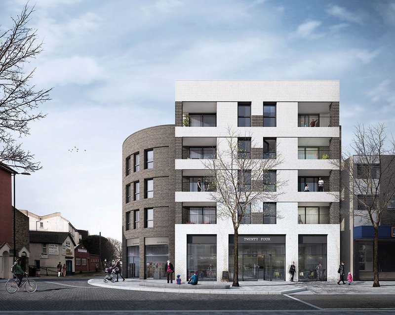Station Road South Norwood is by Common Ground Architecture - an in house design team within Croydon Council's 'Brick by Brick' initiative