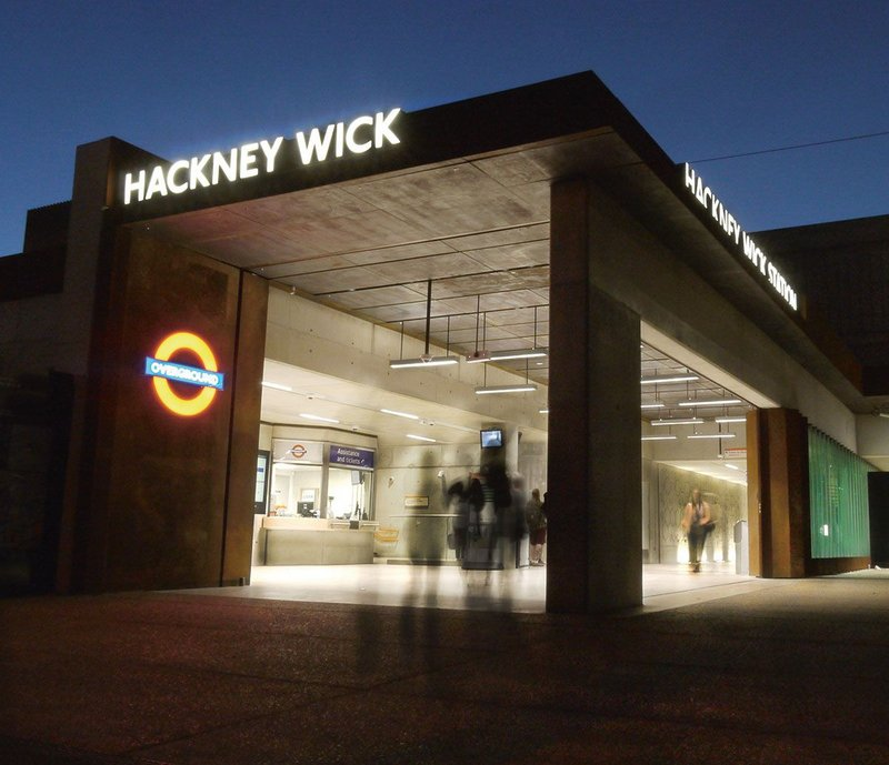 Hackney Wick Station, Hackney Wick.