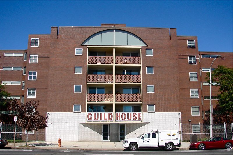 Guild House, Philadelphia; Venturi and Rauch with Cope and Lippincott, 1960-3