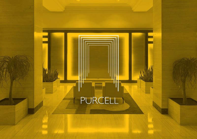 Purcell's 2012 identity designed by Kimpton Creative.