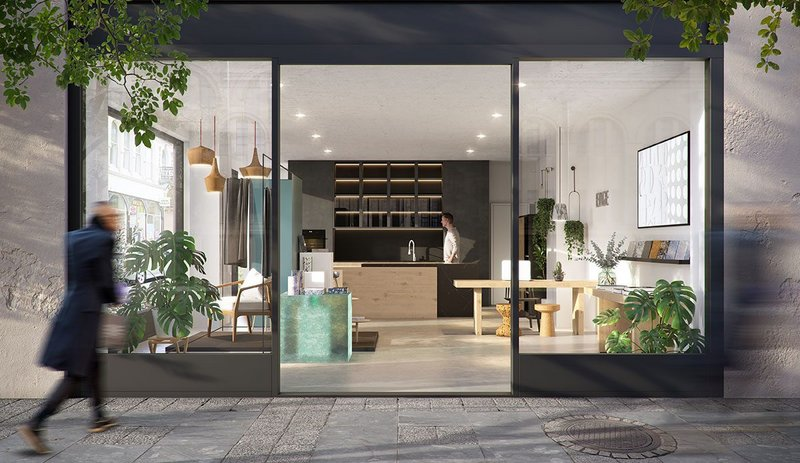 The EDGE centre is located close to Baker Street tube and will display materials and products at the forefront of the sustainable design.