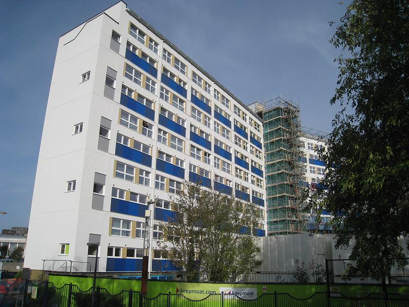 Gardner Stewart Architects' refurb for Wilmcote House, Originally designed by ECD Architects.