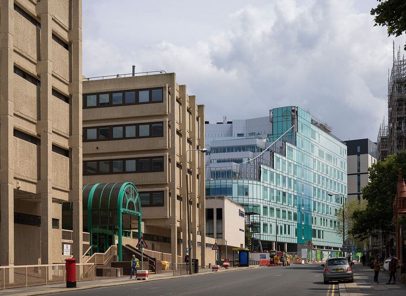 Clatterbridge Cancer Centre for the Royal Liverpool University Hospital by BDP.