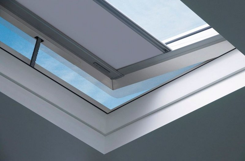 Fakro Type C rooflights.