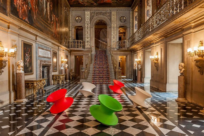 Magis Spun Chairs by Thomas Heatherwick © Chatsworth House Trust