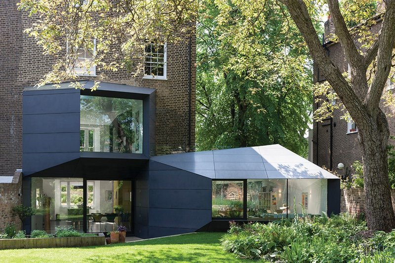 Lens House, London, by Alison Brooks Architects