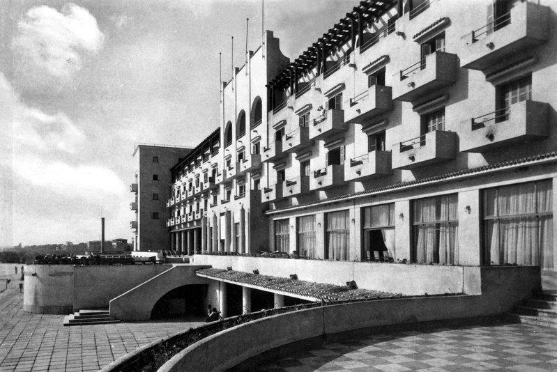 Grand Hotel Rex, Mamaia 1938