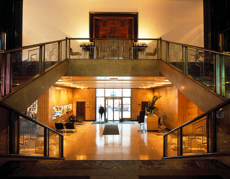 The RIBA's 66 Portland Place, due to undergo an upgrade to operate as Simon Allford's house of architecture.