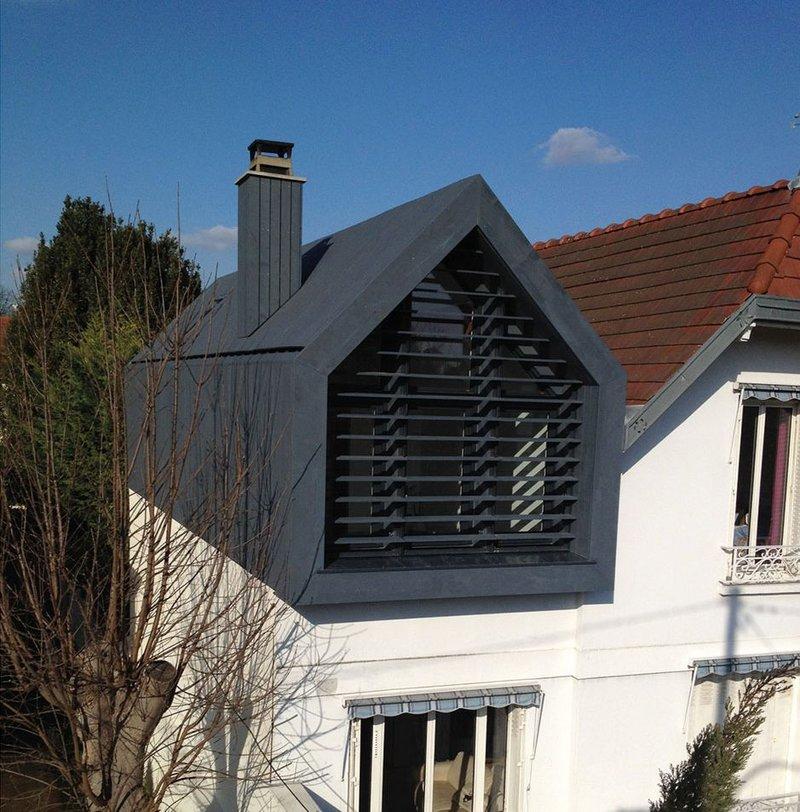IRO external cladding, Charcoal, house extension.