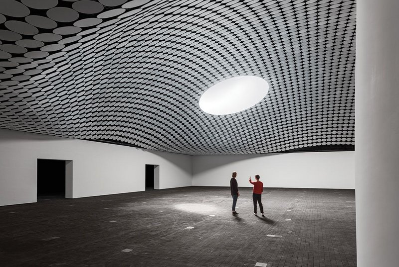 Amos Rex Art Museum Helsinki by Finnish practice ALA, the first in a number of cultural projects for the city.