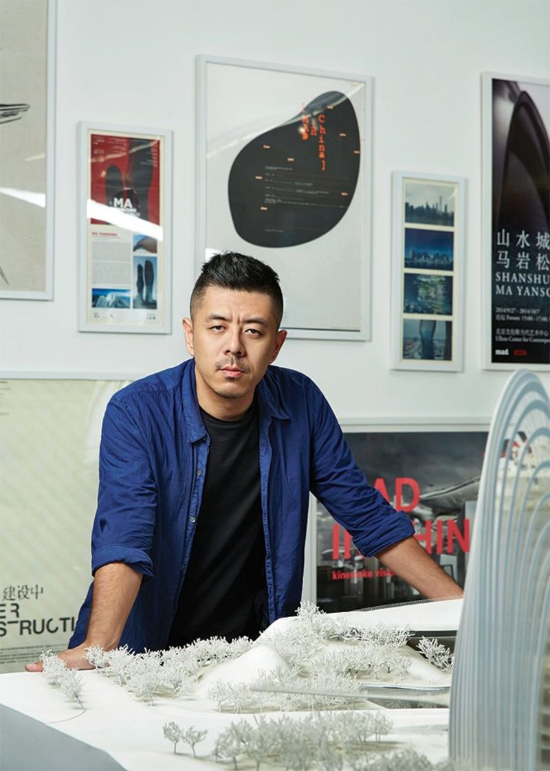 Ma Yansong of Beijing-based MAD will be speaking at the RIBA's international conference.