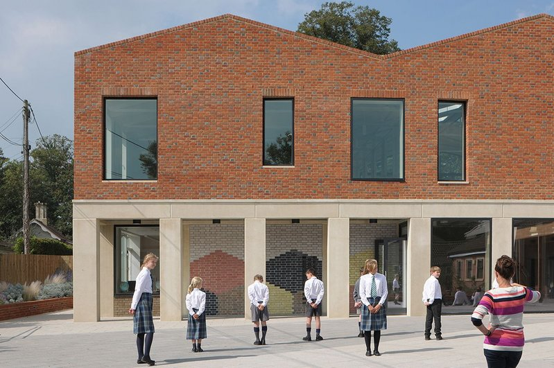 Fitzjames Teaching and Learning Centre – Feilden Fowles. Click on the image