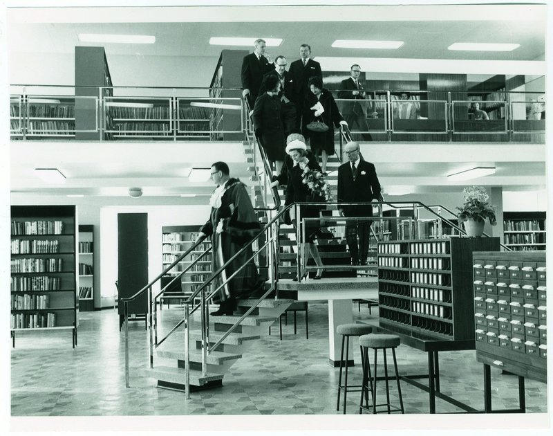 Opening of Hornsey Library on 5March 1965 by Princess Alexandra.