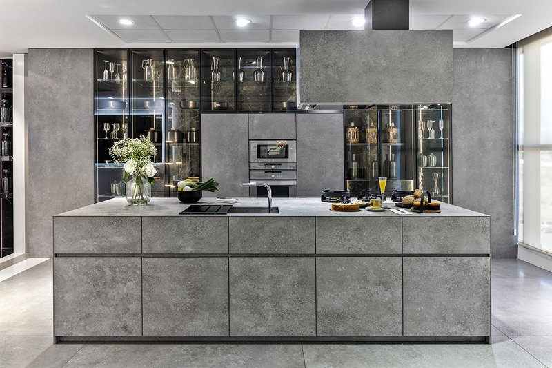 The Neolith Sintered Stone showroom in Castellón, Spain.