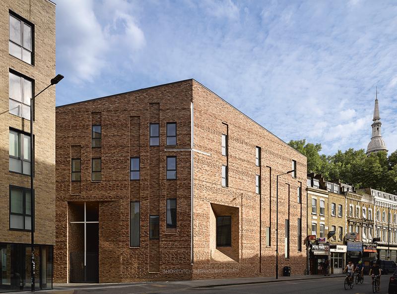 Matthew Lloyd's Shoreditch Tabernacle Baptist Church rebuilt worship space with 35 apartments.