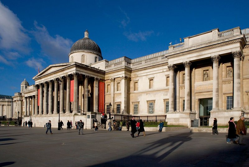 Six teams have been shortlisted to refurbish the National Gallery's Sainsbury Wing.