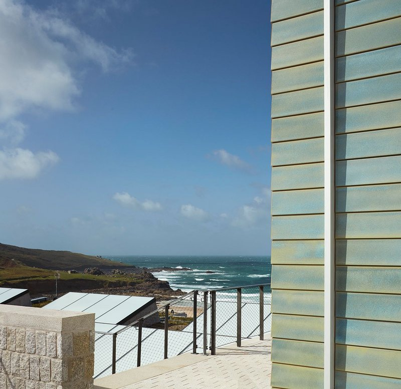 Tate St Ives' new extension,