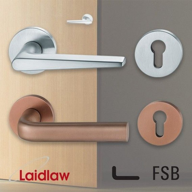 Laidlaw has partnered with premium ironmongery brand FSB.