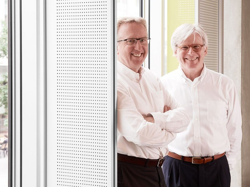 Bob Allies and Graham Morrison, founding partners of Allies and Morrison.