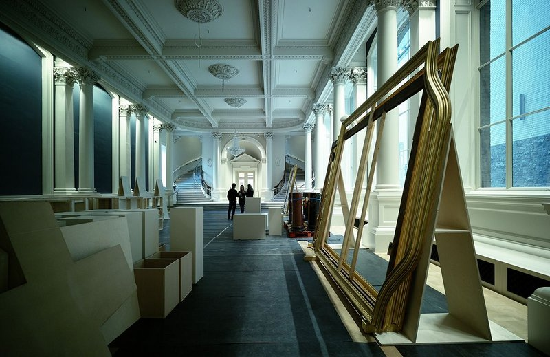 The Grand Gallery at the National Gallery of Ireland, refurbished by Heneghan Peng.