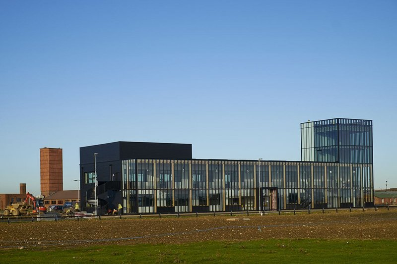 Alconbury Incubator Building – Allford Hall Monaghan Morris. Click on image.