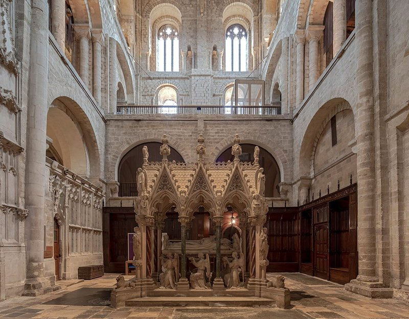 Winchester Cathedral South Transept Exhibition Spaces, Winchester.