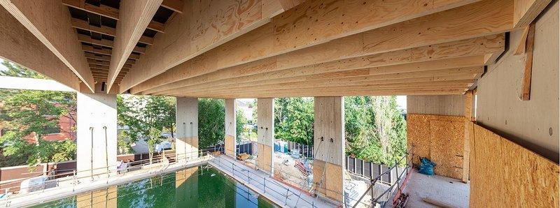 Kerto LVL laminated veneer lumber Metsä Wood