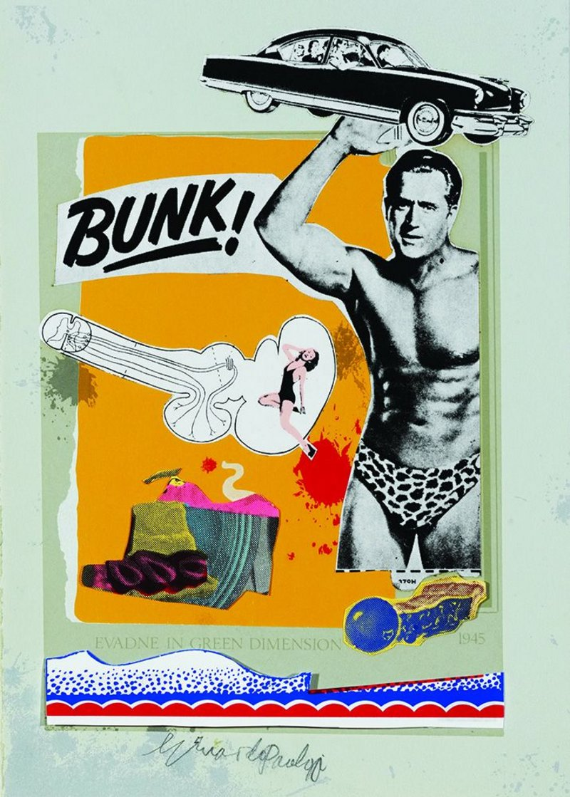 Paolozzi's  Bunk!.