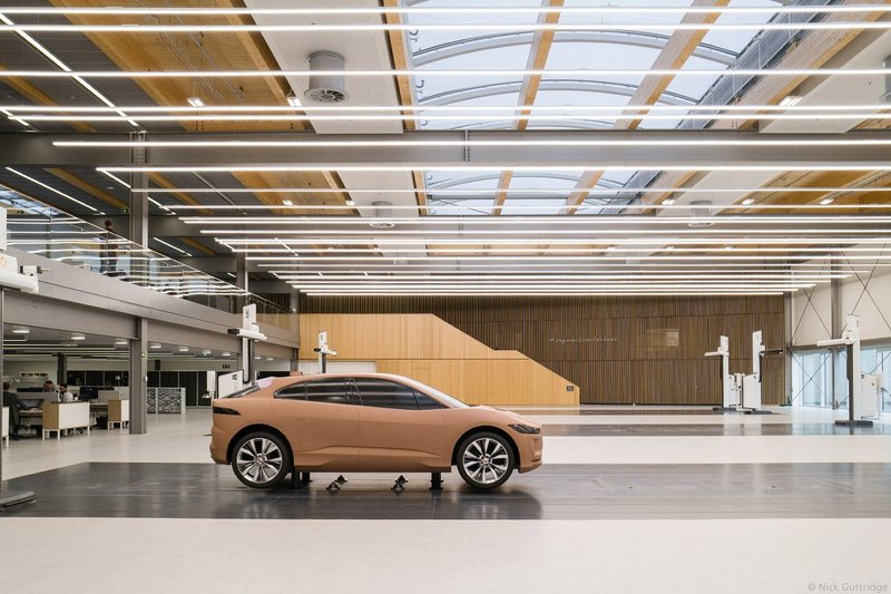 Jaguar Land Rover Advanced Product Creation Centre, Gaydon.