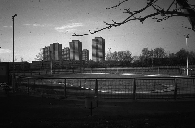 Newham London's point-block towers, early 1970s.