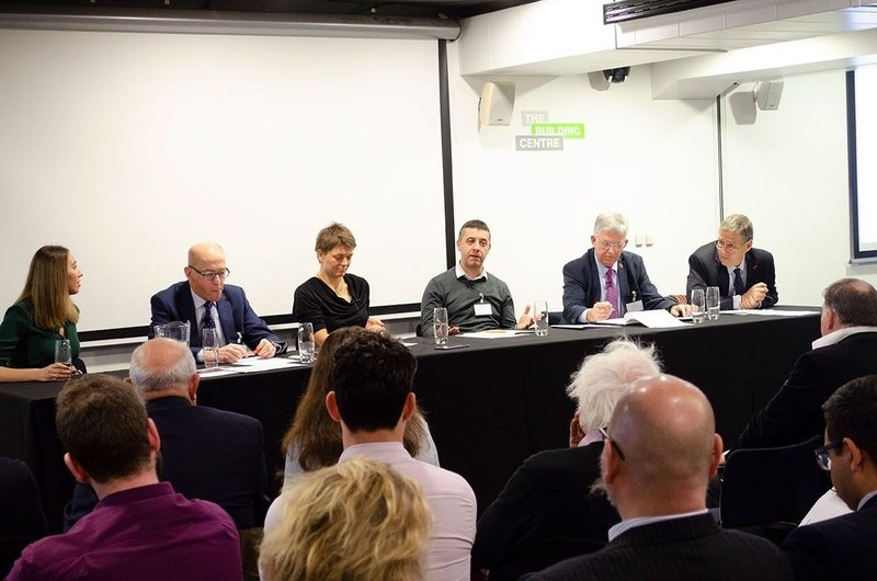 A panel of experts came together last November at London's Building Centre to share knowledge and opinions.
