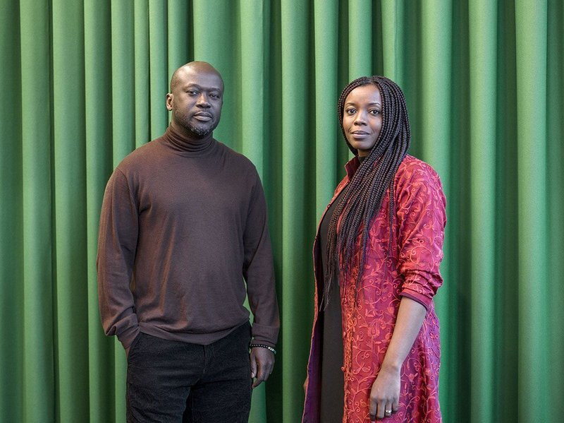 David Adjaye and Mariam Kamara.