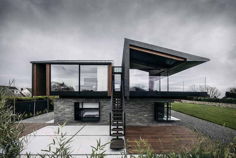 Silver House, The Gower by Hyde + Hyde Architects.