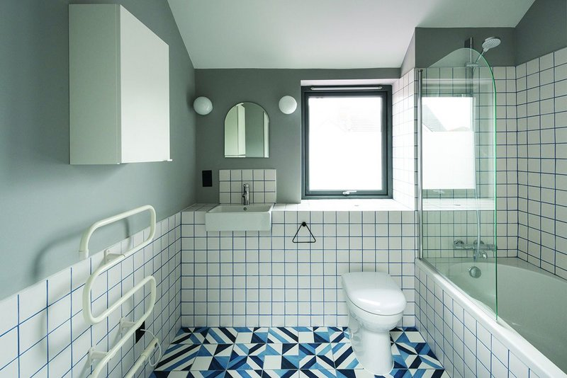 Bathrooms are composed to have more value than their low-cost durable constituent parts