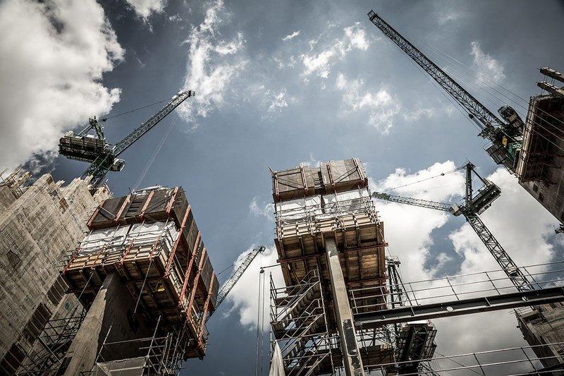 Work on housing in London.