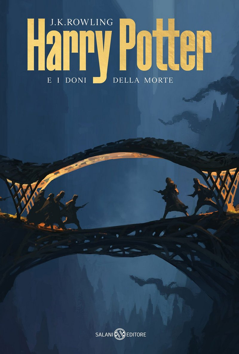 One of AMDL CIRCLE's covers of the new Italian editions of Harry Potter by Salani Editore.