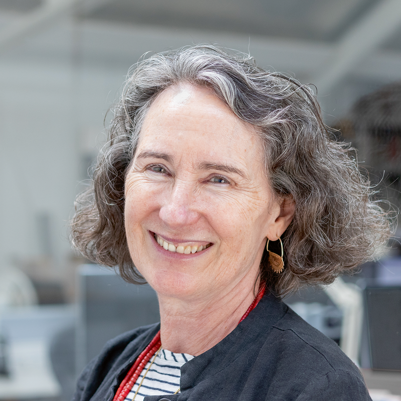 Julia Barfield, managing director of Marks Barfield Architects.