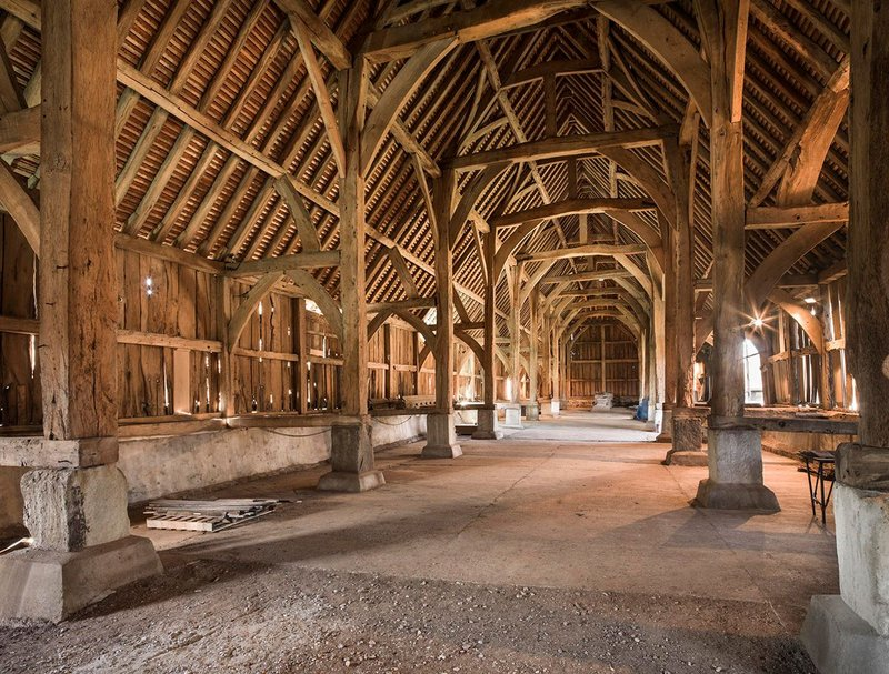 Shortlisted: Conservation and repair  of Harmondsworth Barn