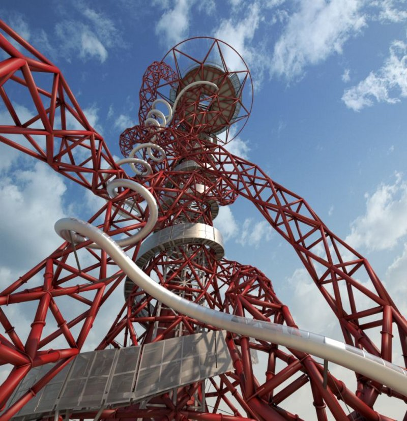 The Arcelor Mittal Orbit tower makes its Open House debut this year