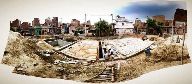 Potty Project: Julia King brings sanitation to a small part of New Delhi