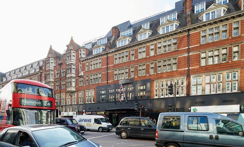 Silent Windows by Hugo Carter on the first floor of the Radisson Blu Edwardian Grafton Hotel, Tottenham Court Road.