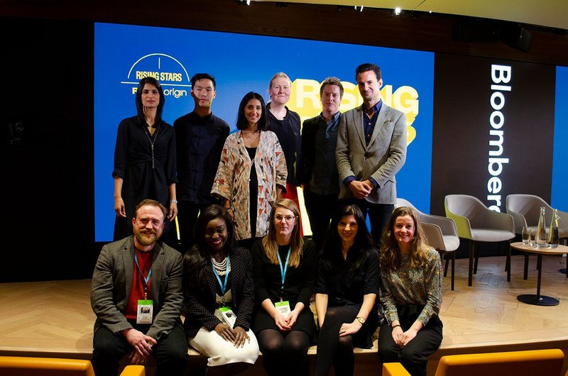Rising Stars cohort, from top right: Kieren Mahjail, BDP; Jonathan Chan, Hawkins\Brown; Sahiba Chadha, Cullinan Studio; Eleanor Young, RIBA Journal; Chris Hildrey, Hildrey Studio; Ben Brocklesby, Origin; Derek Draper, Atomik Architecture; Tara Gbolade, Gbolade Design Studio; Hannah Constantine, David Kohn Architects; Emily Pallot, Ayre Chamberlain Gaunt; Isabelle Priest, RIBA Journal. And (missing) Benjamin Channon, Assael Architecture.