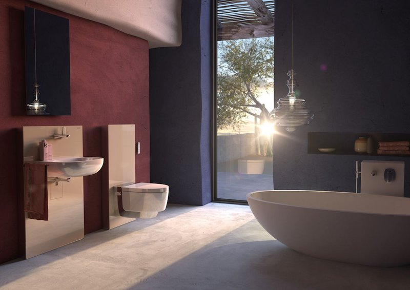The Geberit AquaClean Mera offers users a wealth of shower toilet technology.