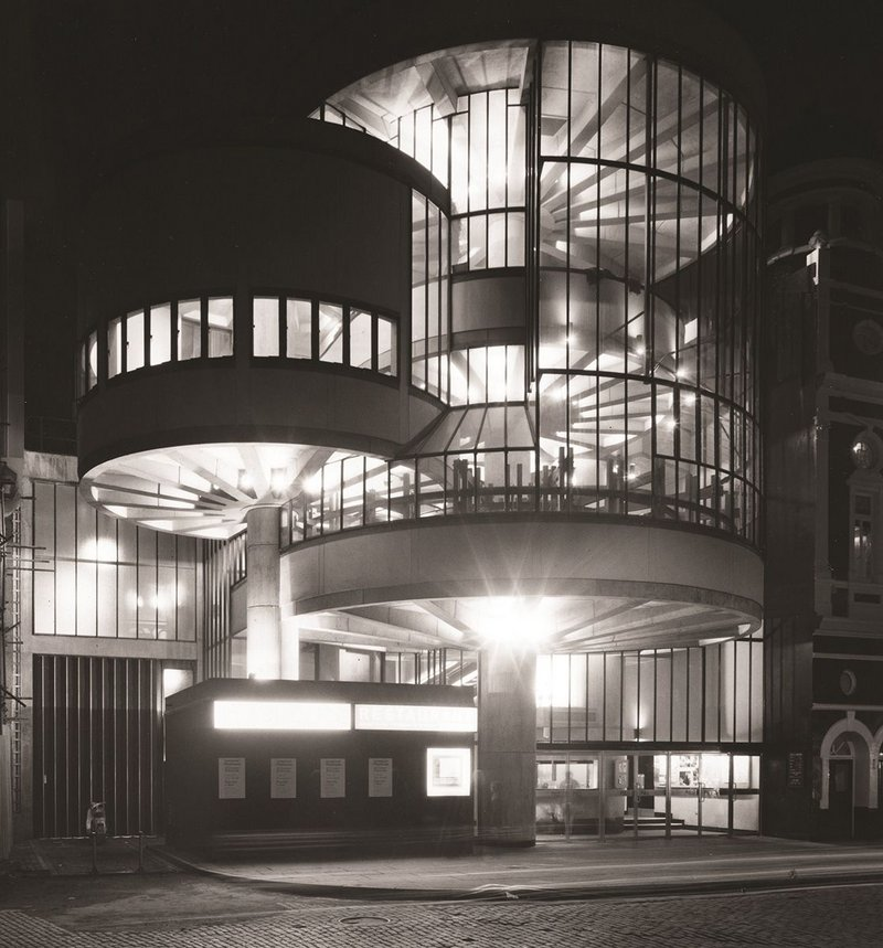 Liverpool Playhouse extension.